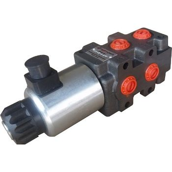 6/2 valve electric valve for 2-hose hydraulics